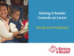 Recall - Raising A Reader