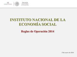 instituto nacional de la economía social
