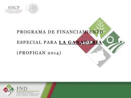 Presentacion General FND PROFIGAN 2014
