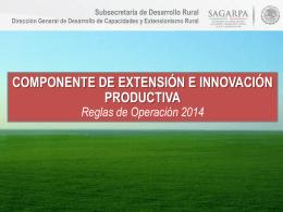 Extensión e Innovación Productiva - AMEAS