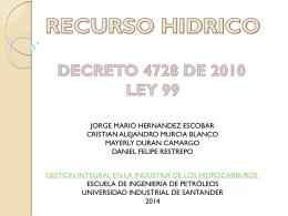Recursos_Hidricos GRUPO 2 - Universidad Industrial de