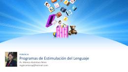 programa - Maestras de Inicial