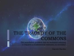 4 Hardin. 1968. Tragedia de los bienes comunes