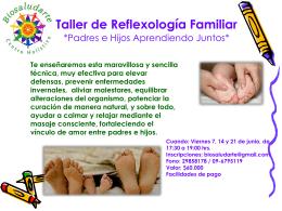 Reflexología Familiar Aprendiendo Juntos