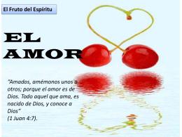 01-El Amor (532342) - (el evangelio de Cristo).