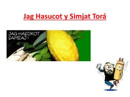 Jag Hasucot y Simjat Torá