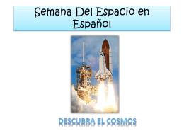 Espacie Semana en Español