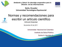 Semana de la BVS Colombia