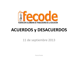 acuerdos men- fecode