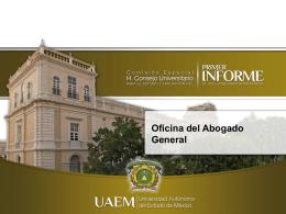 Acuerdos - Universidad Autónoma del Estado de México