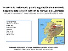 PIAR - CARE Ecuador