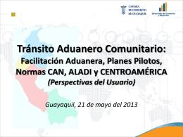 Tránsito Aduanero Comunitario - Logistica y Comercio Exterior
