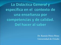 La Didáctica General