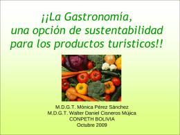 ¡¡Gastronomía Mexicana, un mundo de oportunidades!!