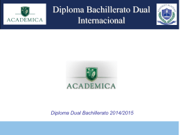 Power Point-Bachillerato Dual Internacional