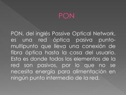 PON - Sistemas de Transmisión