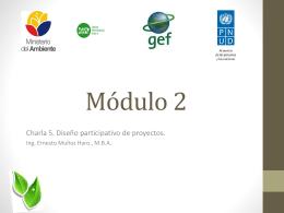 Charla 5 Diseño participativo de proyectos