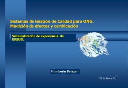 de diapositiva - Centro Virtual para la transparencia y la rendición
