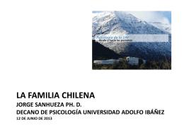 Presentación Jorge Sanhueza, Decano Facultad de