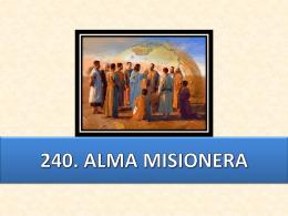 240. alma misionera (chile)