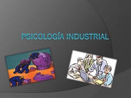 Psicología industrial - Portal Académico del CCH