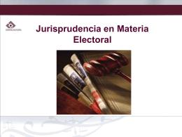 Presentación de PowerPoint - Tribunal Estatal Electoral