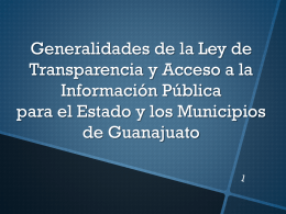 Diapositiva 1 - Guanajuato Capital