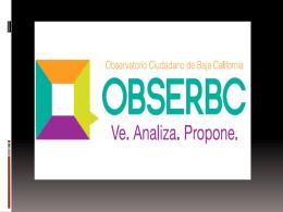 Informe del Estado de Tramites pedidos por OBSERBC