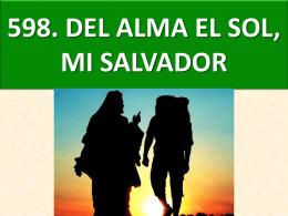 598. del alma el sol, mi salvador (chile)