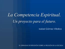 Competencia Espiritual Religiosa