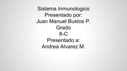 diapositivas del sistema inmune
