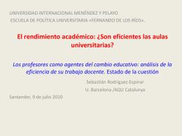Escu - Cátedra UNESCO de Gestión y Política Universitaria