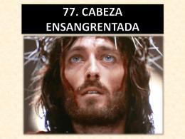 77. cabeza ensangrentada