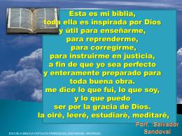 Evangelio Según Mateo - parroquia de san miguel arcangel