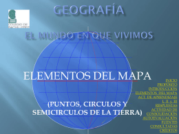 ELEMENTOS DEL MAPA - Colegio de Bachilleres