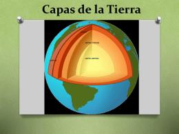 Capas de la Tierra.