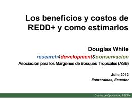 Costos de oportunidad REDD+ - giz