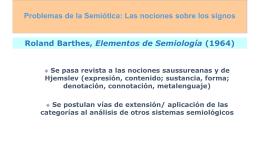 Peirce - Semiótica de los medios II