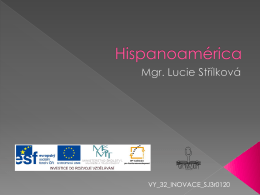 Hispanoamérica - zlinskedumy.cz