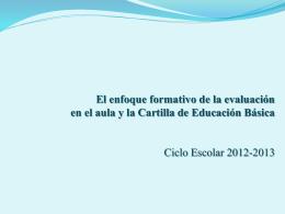 Enfoque formativo_evaluación