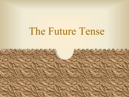 The Future Tense - Solon City Schools