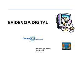 Lunes presentacion de evidencia digital ACSDA pilar jacome