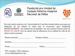 formulario - Universidad de Costa Rica