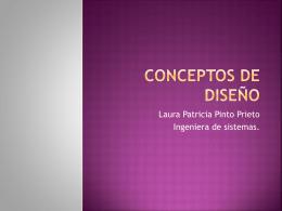 Conceptos de diseño
