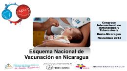 Esquema Nacional de Vacunación en Nicaragua