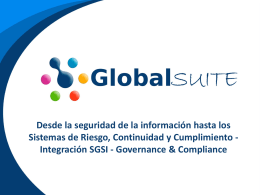 ISO 27001 - Globaltek Security SA