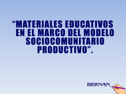 MATERIALES EDUCATIVOS - PROF. HERNAN ZUAZO