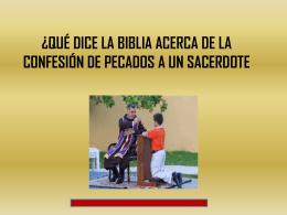 532QUE DICE LA BIBLIA ACERCA DE CONFECION DE PECADOS