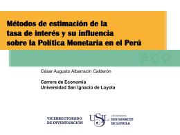 Presentación de PowerPoint - Universidad San Ignacio de Loyola