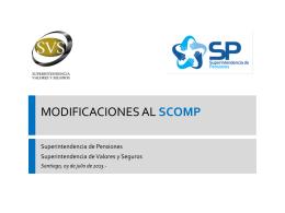 Presentación de PowerPoint - Superintendencia de Valores y Seguros